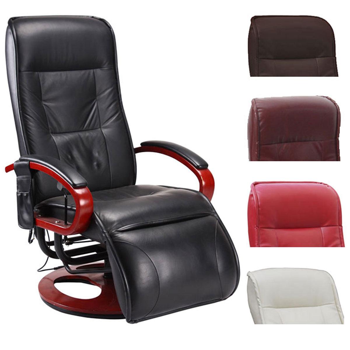 relaxliege arles ii relaxsessel mit massagefunktion leder oder kunstleder ebay. Black Bedroom Furniture Sets. Home Design Ideas