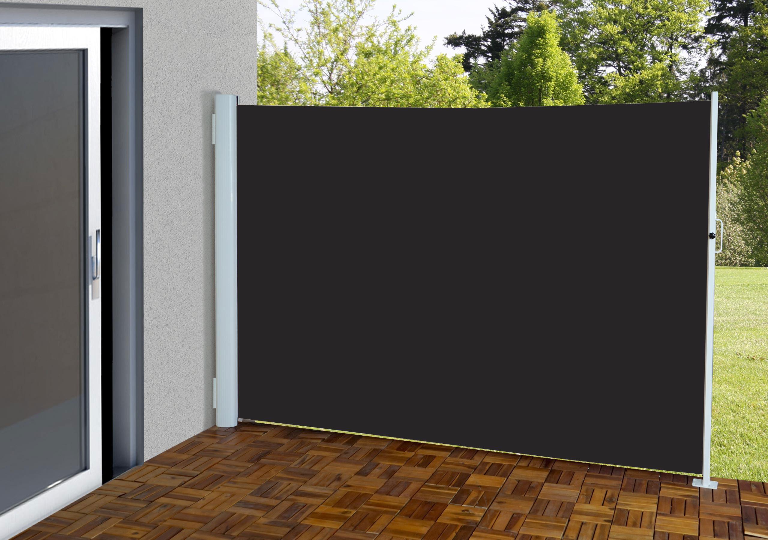 wundersch nen sichtschutz markise einzigartige ideen zum sichtschutz. Black Bedroom Furniture Sets. Home Design Ideas