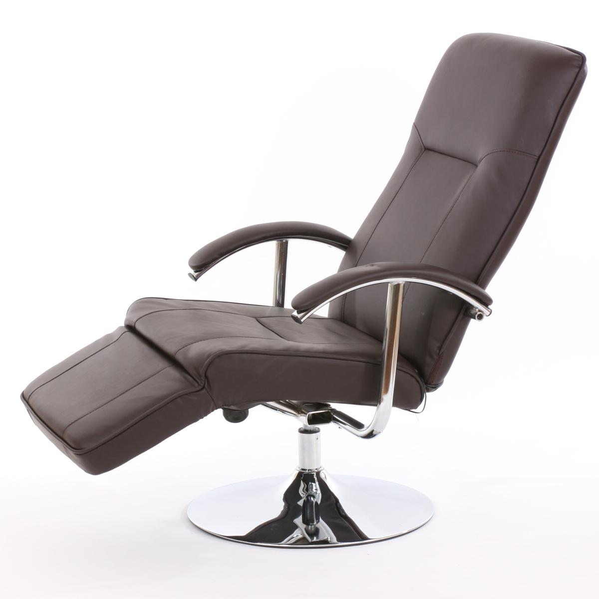 relaxliege relaxsessel ascoli ii braun leder. Black Bedroom Furniture Sets. Home Design Ideas