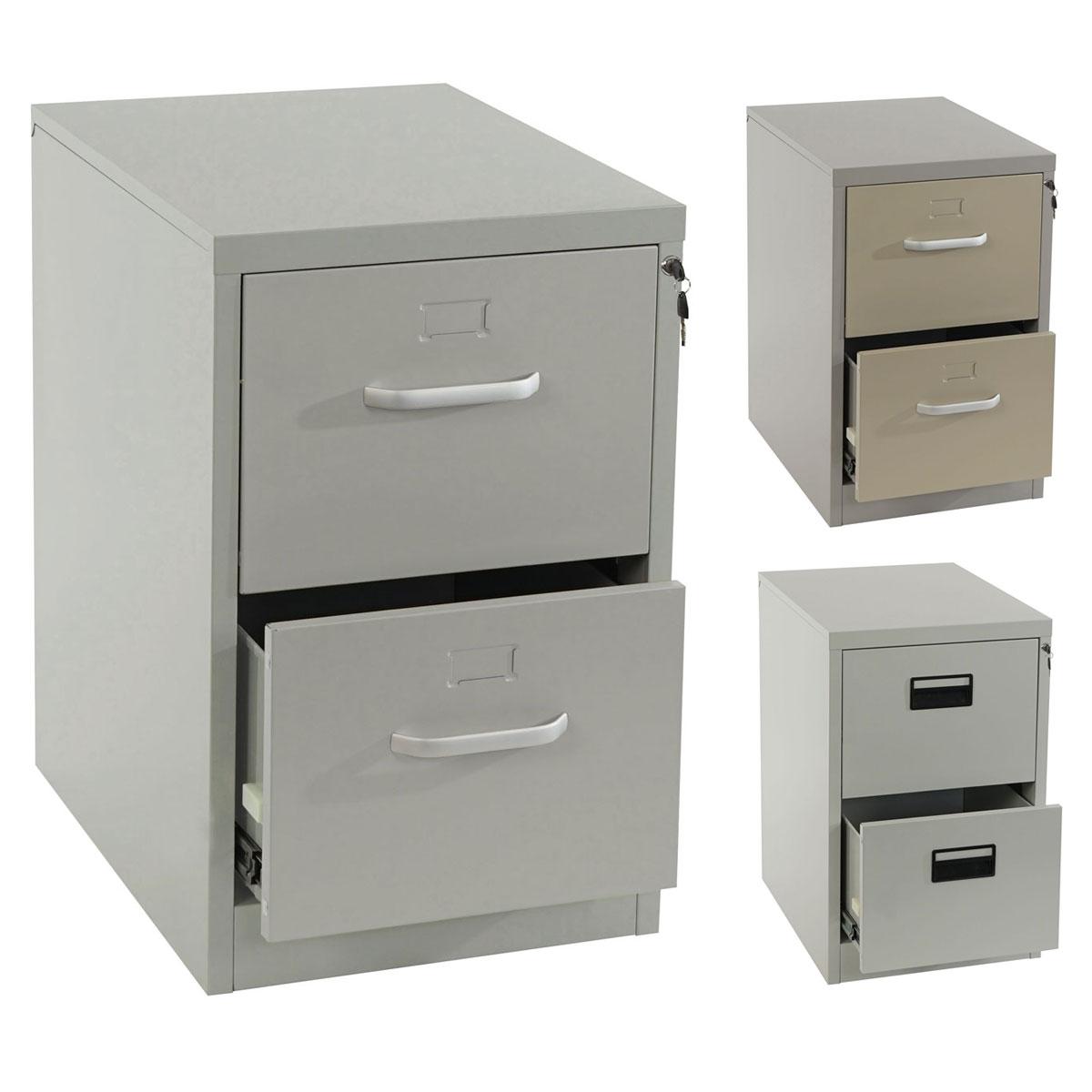 h ngeregisterschrank boston aktenschrank b roschrank 73x46x62cm grau beige ebay. Black Bedroom Furniture Sets. Home Design Ideas