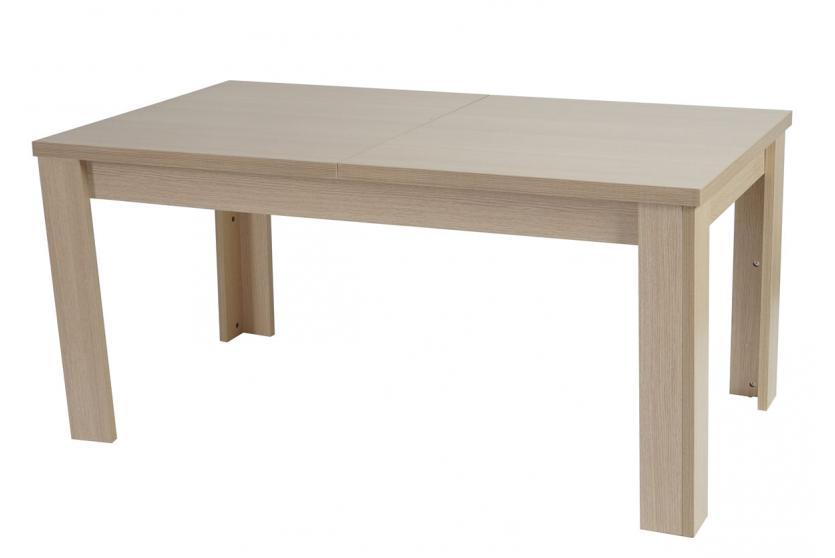 Tisch esszimmertisch esstisch aberdeen ausziehbar 160 for Esszimmertisch buche