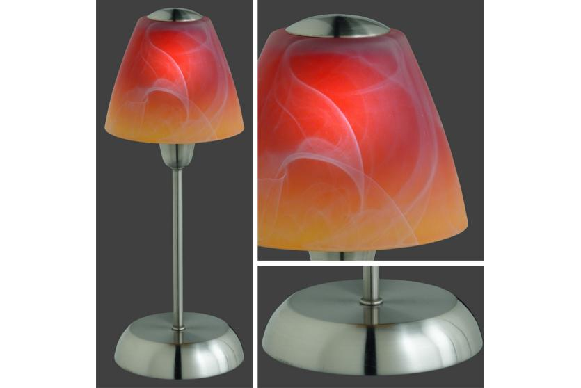 reality trio tischleuchte tischlampe touch me 36cm multi color ebay. Black Bedroom Furniture Sets. Home Design Ideas