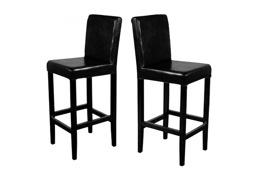 2x barhocker vicenza holz leder rot creme schwarz braun ebay. Black Bedroom Furniture Sets. Home Design Ideas