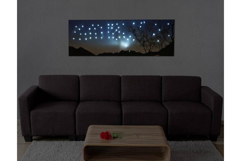 led bild mit beleuchtung leinwandbild leuchtbild wandbild oder uhr ebay. Black Bedroom Furniture Sets. Home Design Ideas