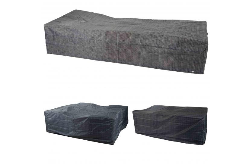 abdeckplane schutzplane abdeckhaube h lle regenschutz f r gartenm bel nylon. Black Bedroom Furniture Sets. Home Design Ideas