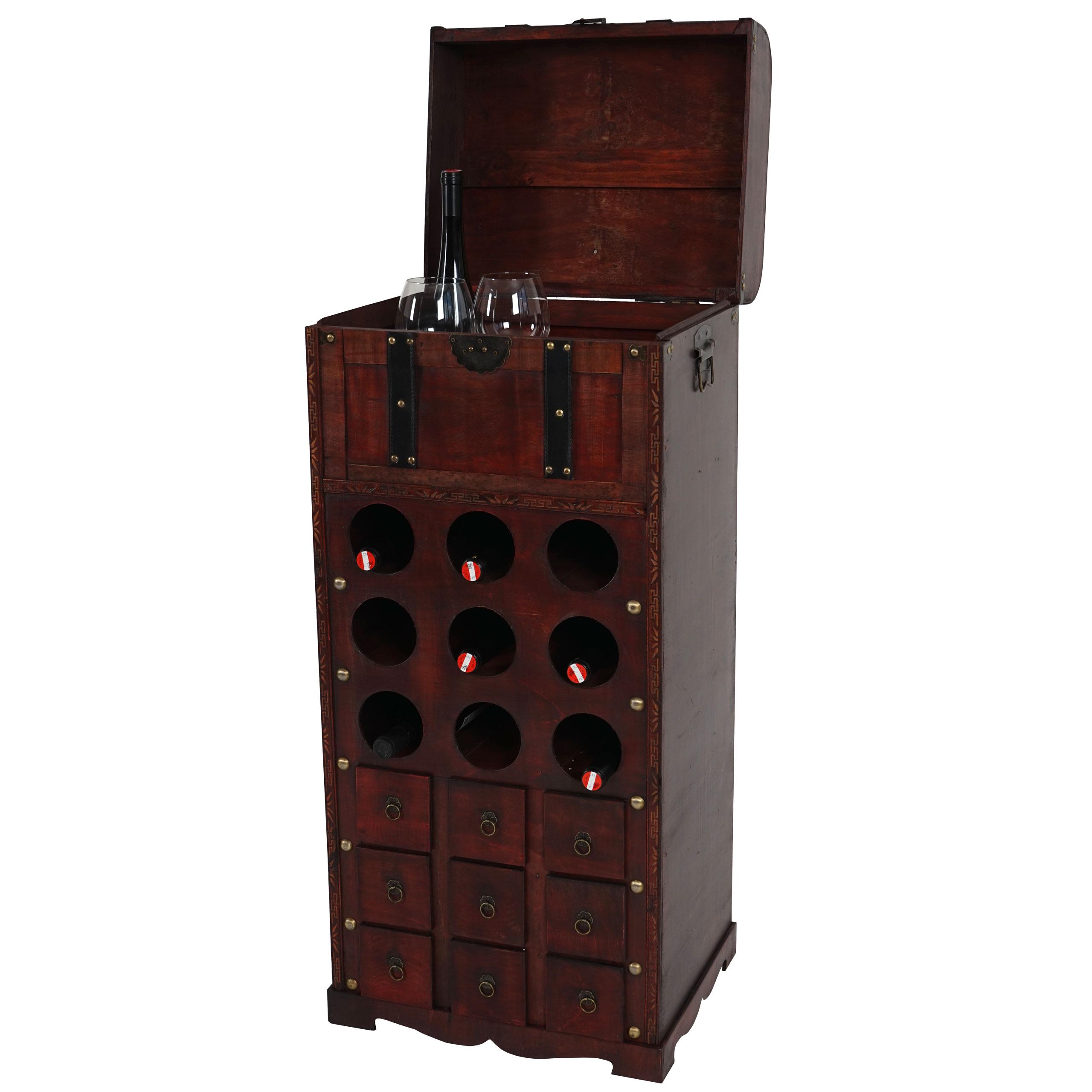 weinregal rhone t251 regal holzregal f r 9 flaschen. Black Bedroom Furniture Sets. Home Design Ideas