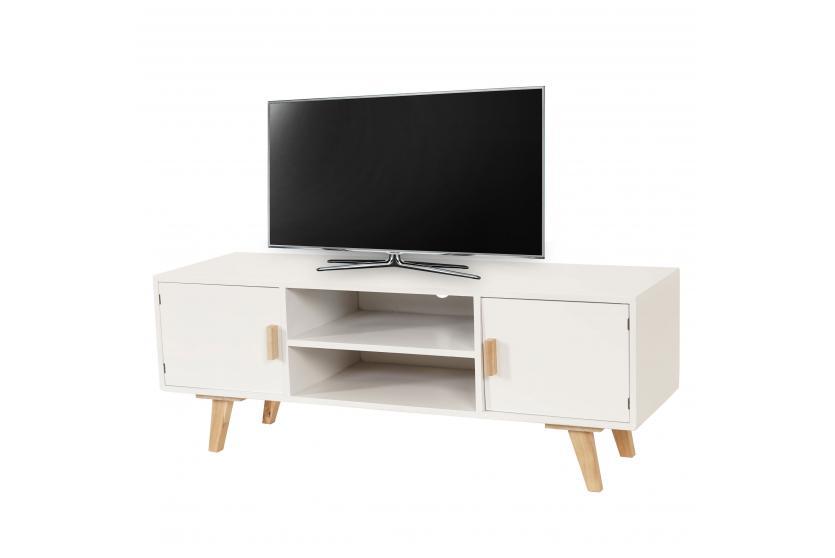 Tv rack weis beste bildideen zu hause design for Fernsehtisch design