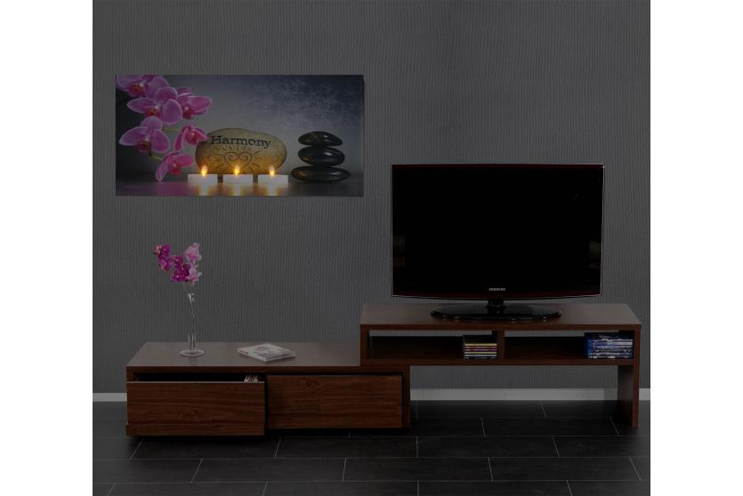 led bild mit beleuchtung leinwandbild wandbild leuchtbild motivbild timer ebay. Black Bedroom Furniture Sets. Home Design Ideas