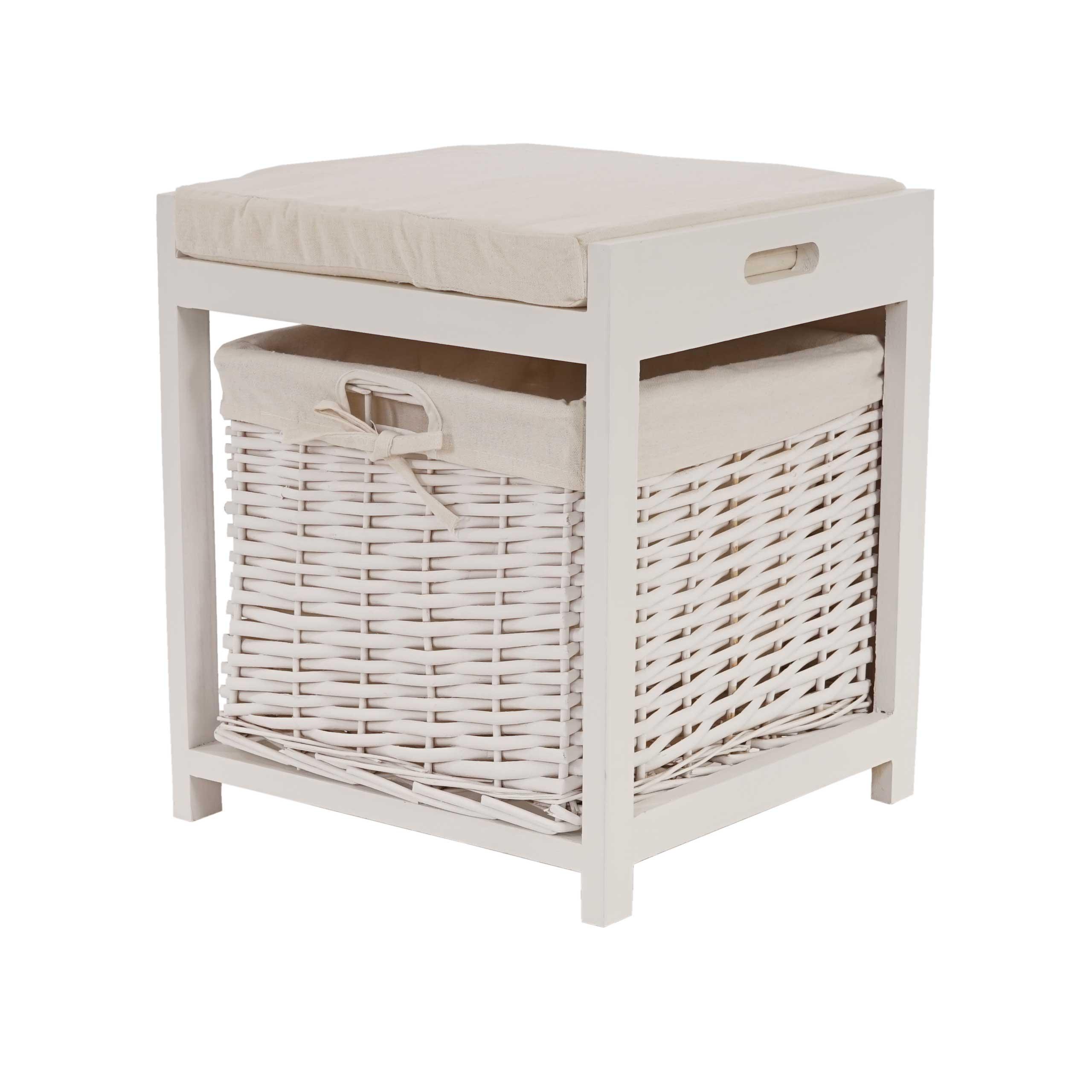 sitzhocker kelibia hocker sitzbox korb aufbewahrung. Black Bedroom Furniture Sets. Home Design Ideas