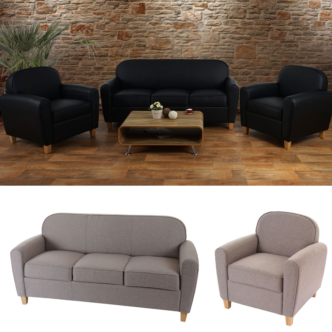 3 2 1 couchgarnitur malm t377 sofa loungesofa retro 50er jahre design ebay. Black Bedroom Furniture Sets. Home Design Ideas