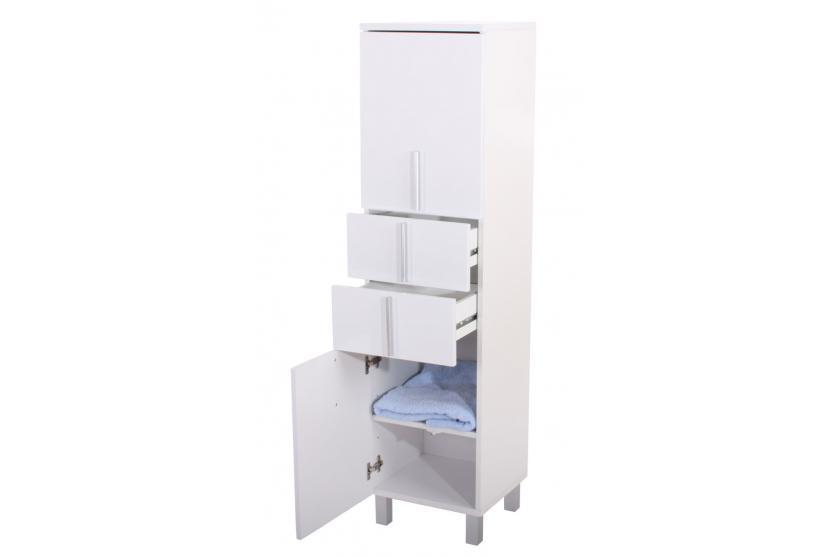 hochschrank schrank hochglanz badschrank badezimmerschrank. Black Bedroom Furniture Sets. Home Design Ideas