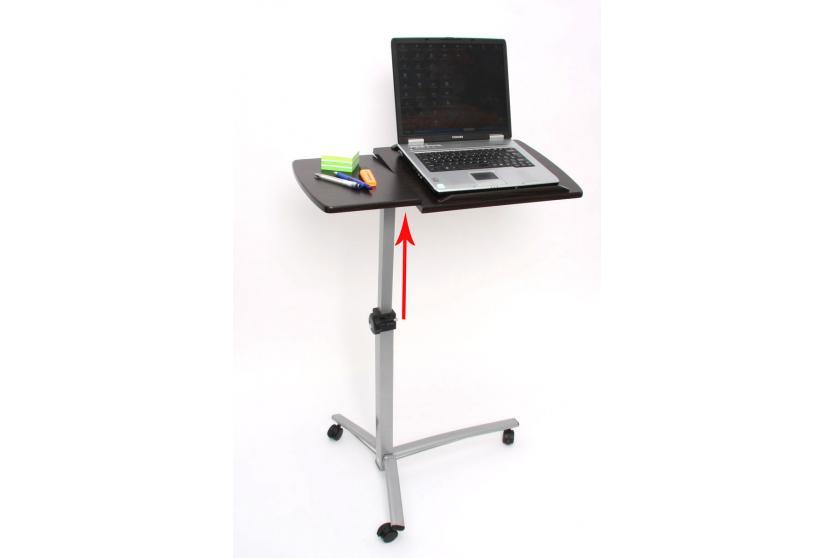Laptop Notebook Tisch Beistelltisch, höhenverstellbar, schwenkbar