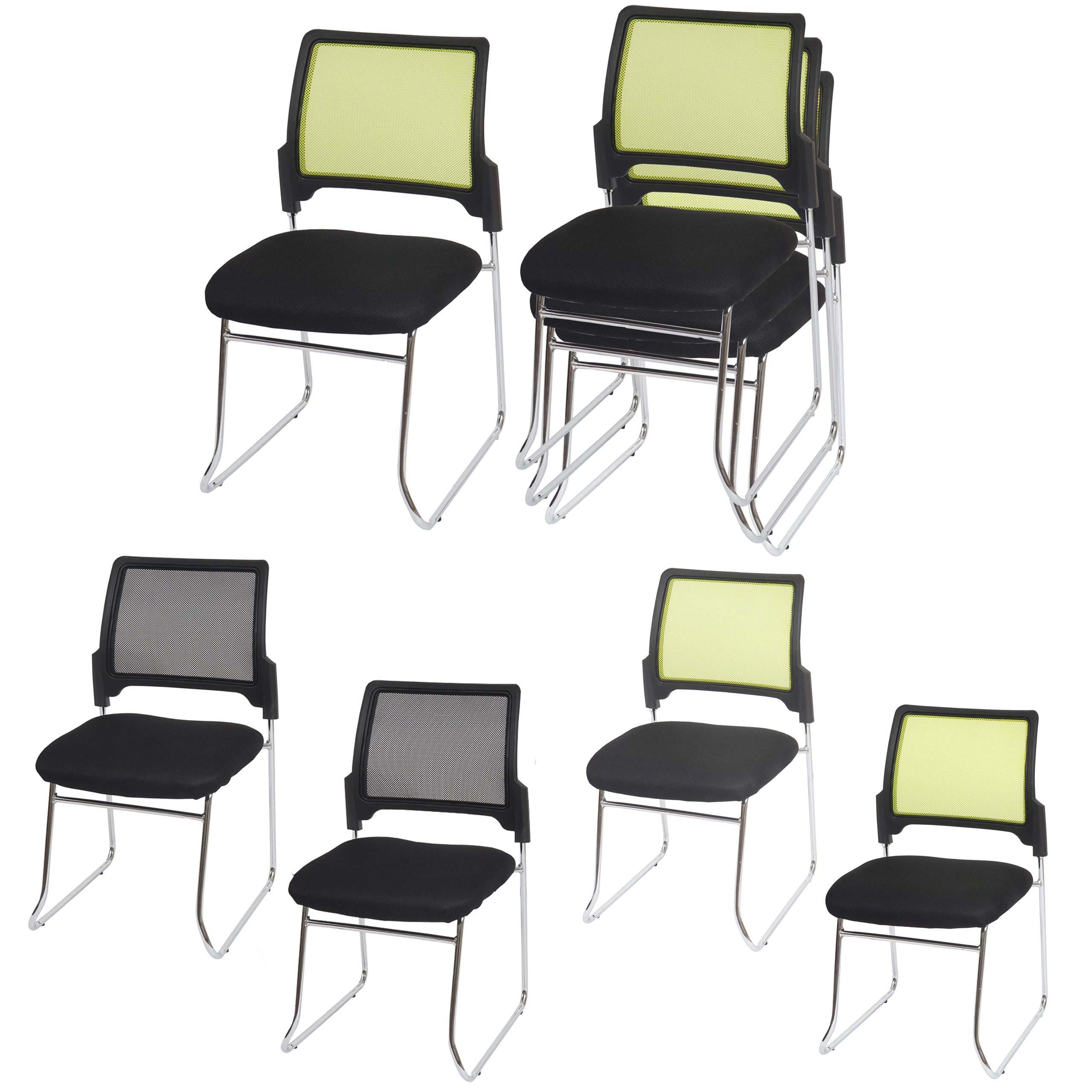 2x oder 4x konferenzstuhl beveren besucherstuhl stapelbar textil ebay. Black Bedroom Furniture Sets. Home Design Ideas