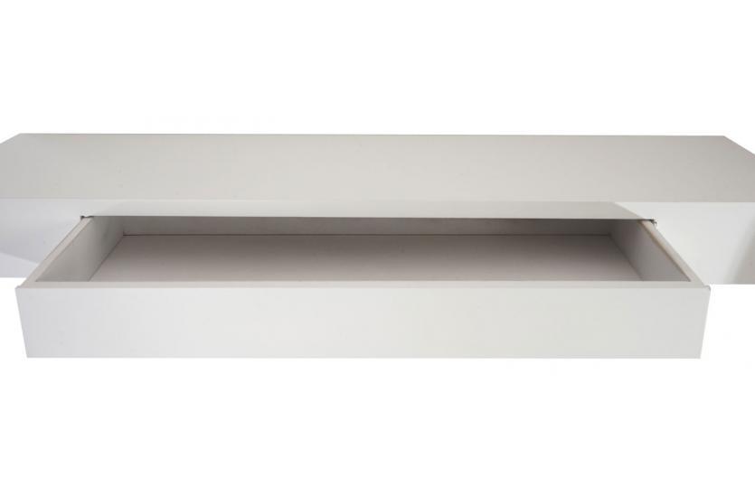 Wandregal Oise, Regal Hängeregal, 80cm Schublade weiß  eBay