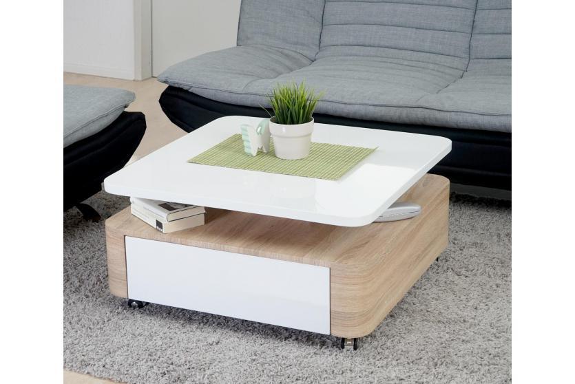 couchtisch wohnzimmertisch beistelltisch sibiu hochglanz. Black Bedroom Furniture Sets. Home Design Ideas