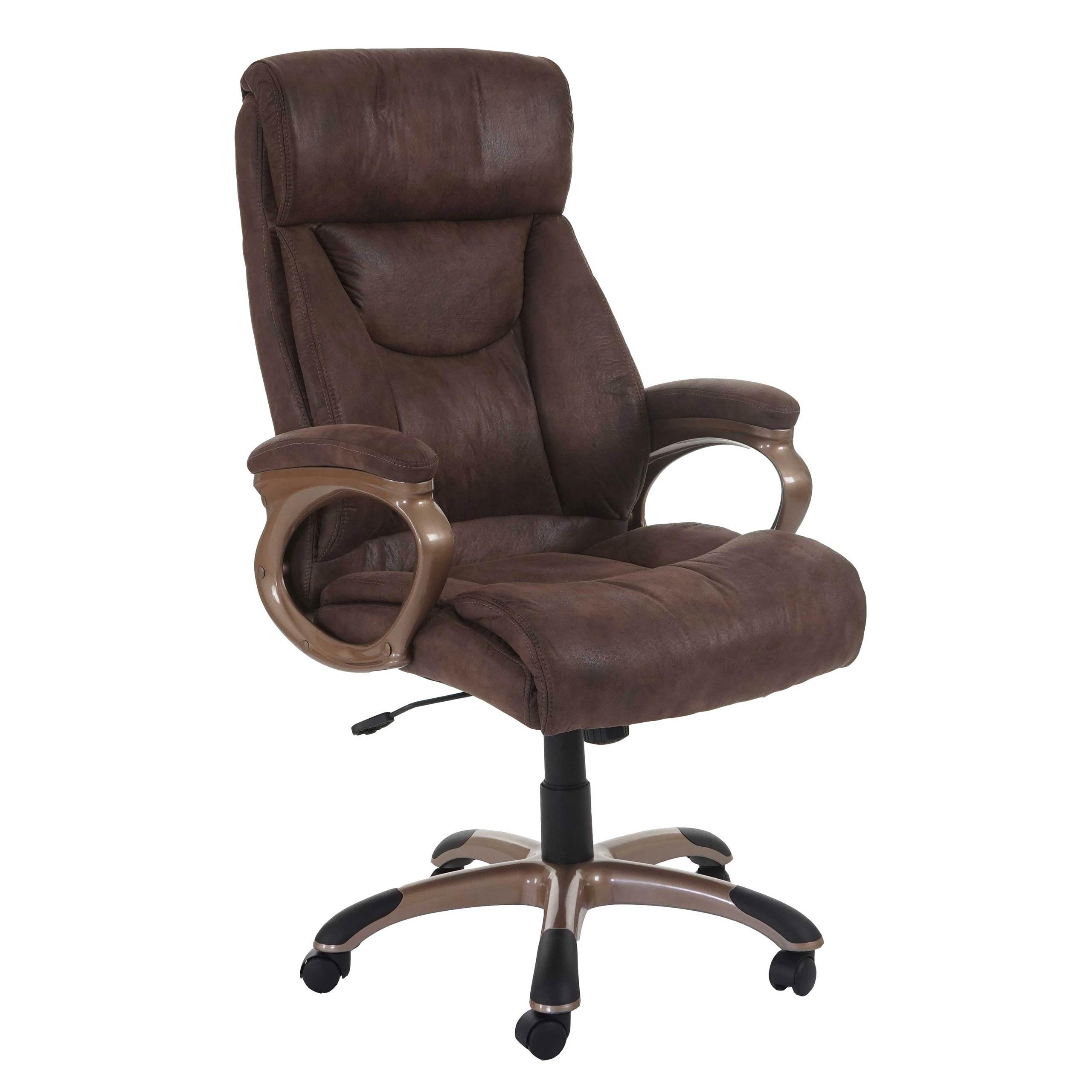 b rostuhl denver schreibtischstuhl drehstuhl chefsessel wildleder optik taupe ebay. Black Bedroom Furniture Sets. Home Design Ideas