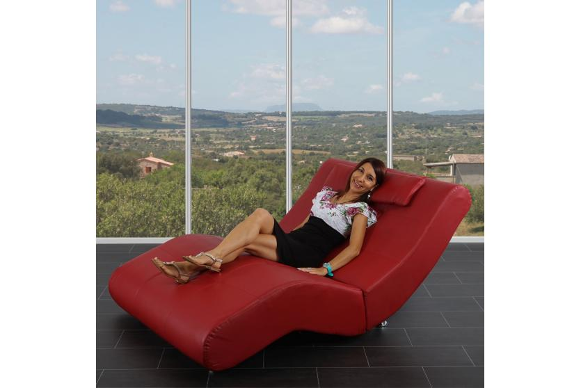 relaxliege chaiselongue recamiere livorno ii xxl leder ebay. Black Bedroom Furniture Sets. Home Design Ideas