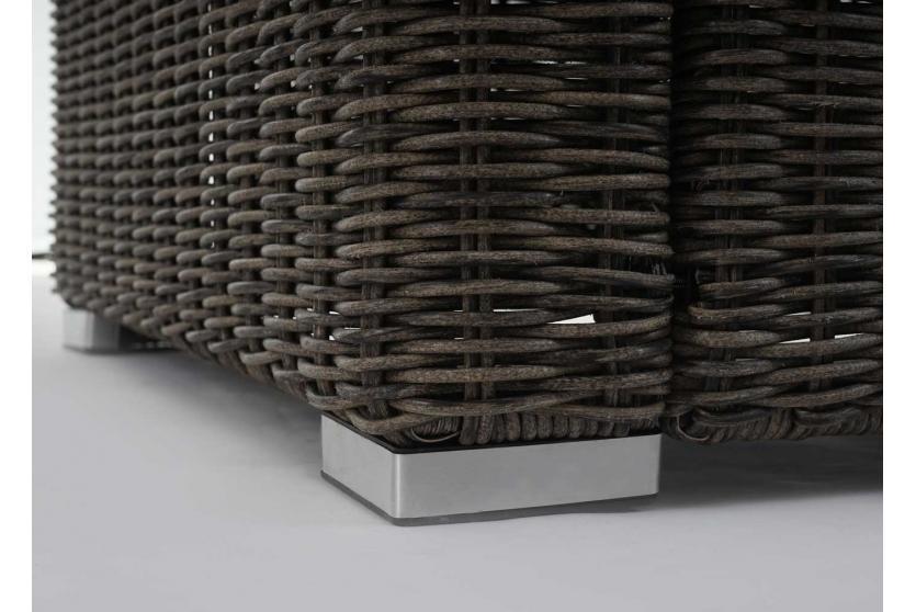 luxus poly rattan albury gartengarnitur alu sofa garnitur. Black Bedroom Furniture Sets. Home Design Ideas