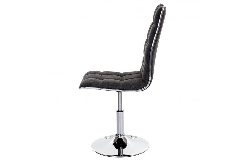 2x esszimmerstuhl dieburg stuhl lehnstuhl h henverstellbar drehbar textil hellgrau. Black Bedroom Furniture Sets. Home Design Ideas