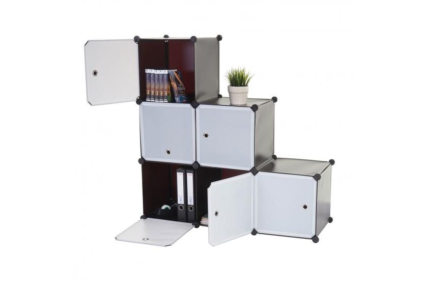 regalsystem cairns t307 6 boxen je 36x36x36cm braun. Black Bedroom Furniture Sets. Home Design Ideas