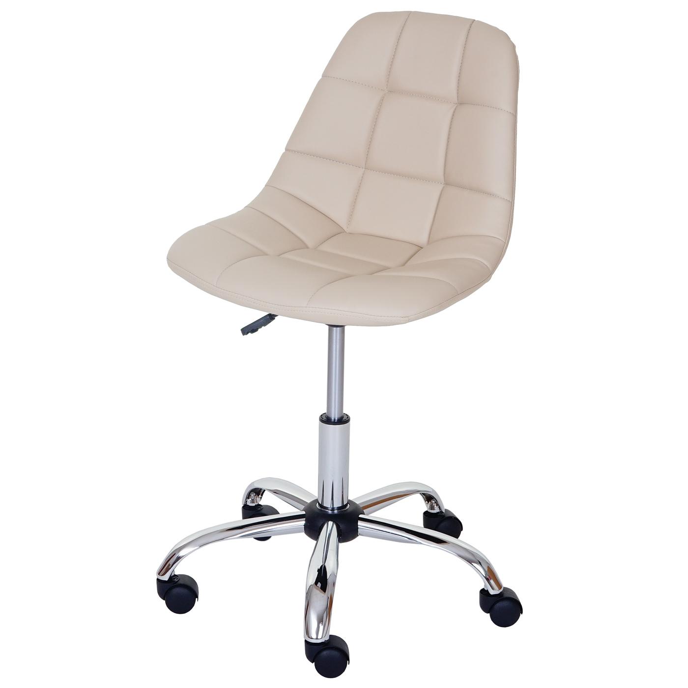 Sedia sgabello ufficio con ruote lier 54x62x80 92 acciaio for Sedia ufficio ruote