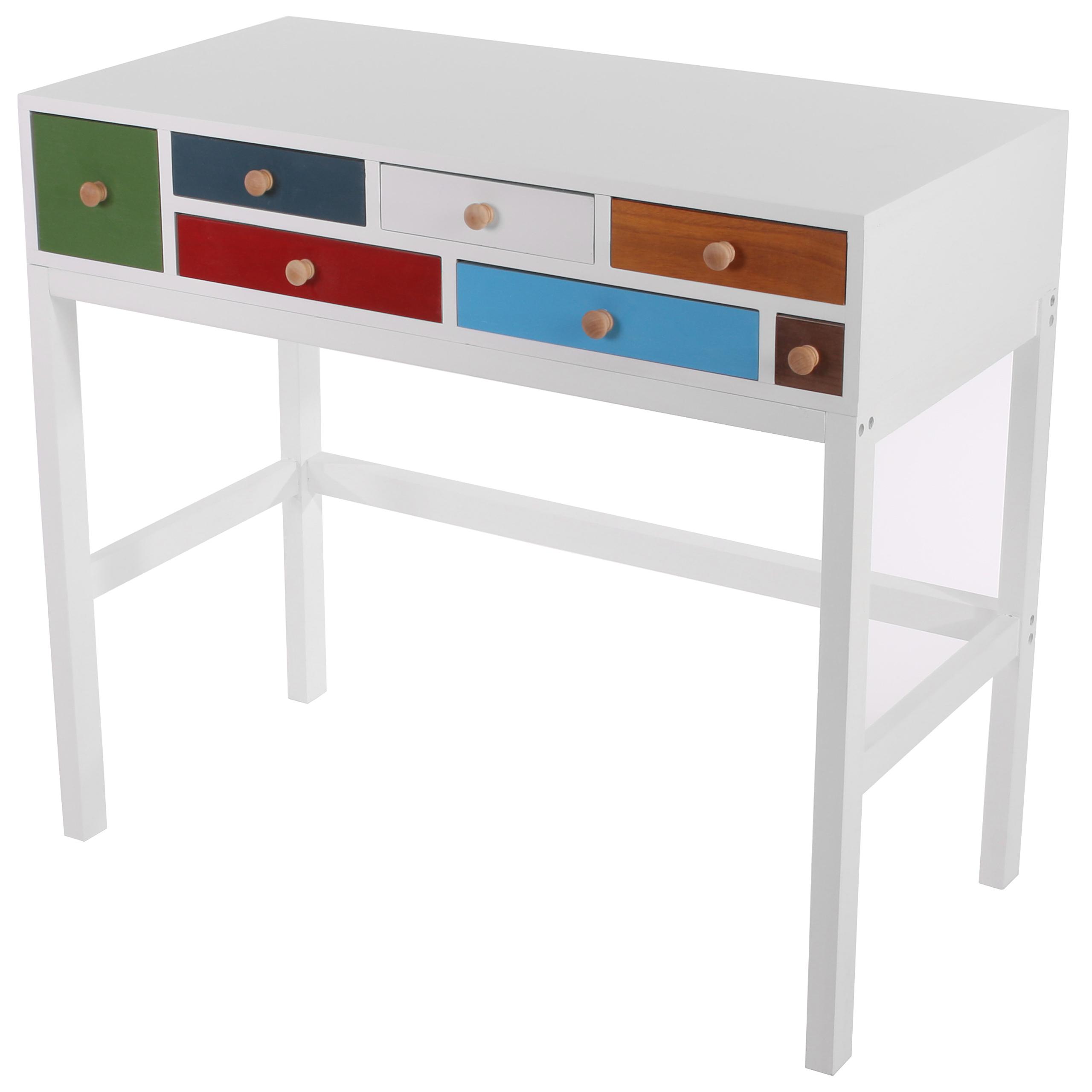 Sideboard kommode tisch 90x80x45cm patchwork ebay for Sideboard tisch