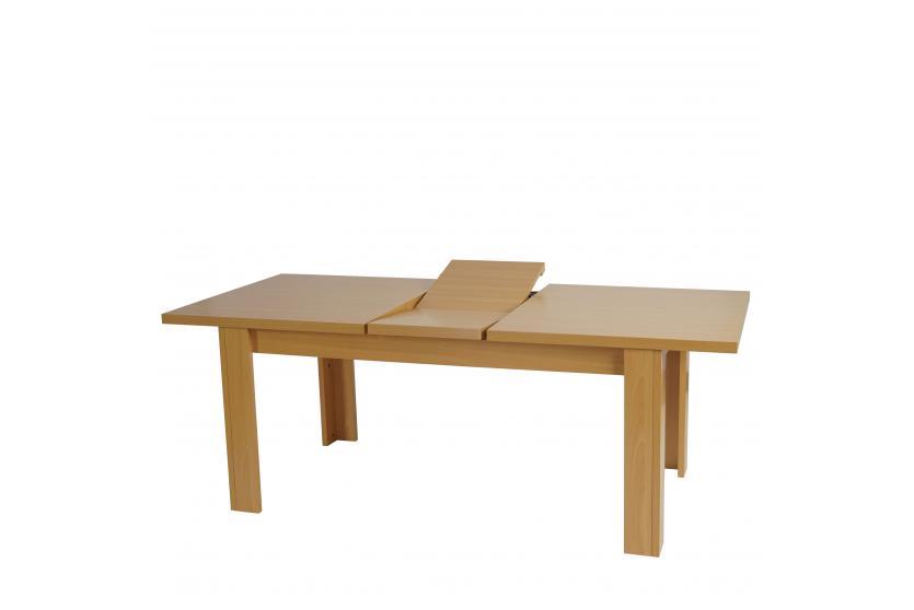 Tisch esszimmertisch esstisch aberdeen ausziehbar 160 for Esstisch walnuss ausziehbar