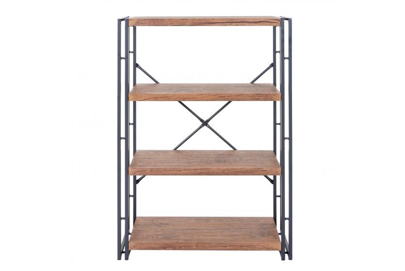 b cherregal dohna standregal wohnregal 121x80cm 3d. Black Bedroom Furniture Sets. Home Design Ideas