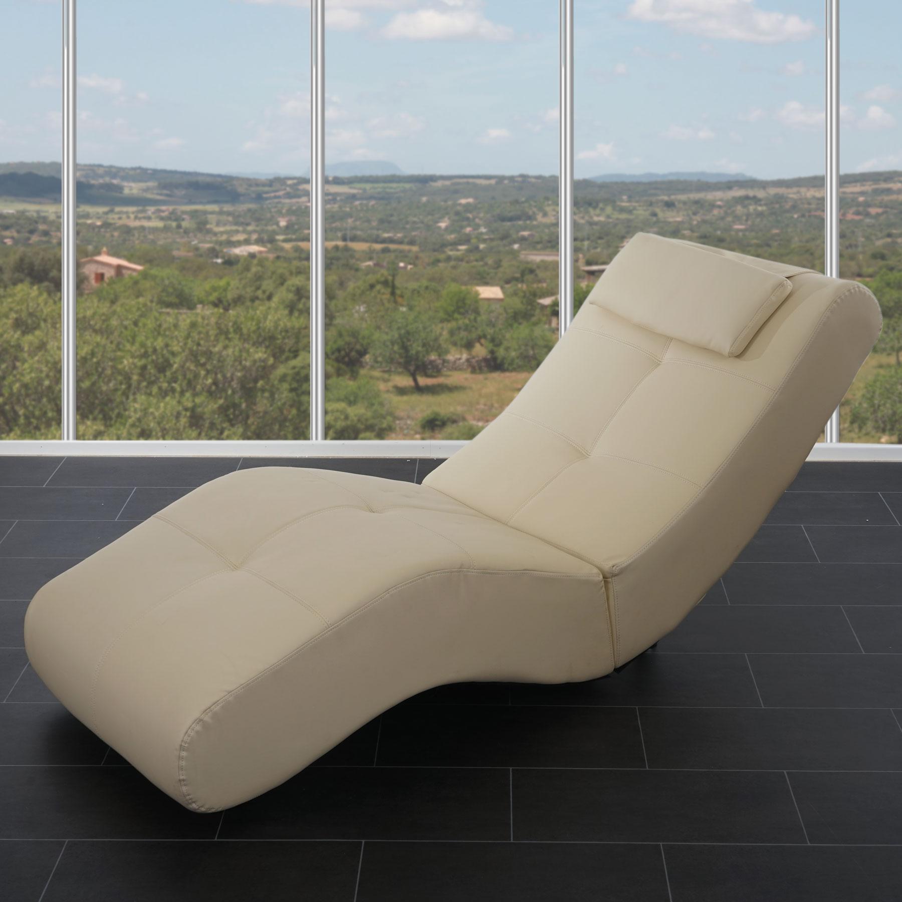 Design chaiselounge poltrona relax livorno ii ecopelle for Poltrona relax design
