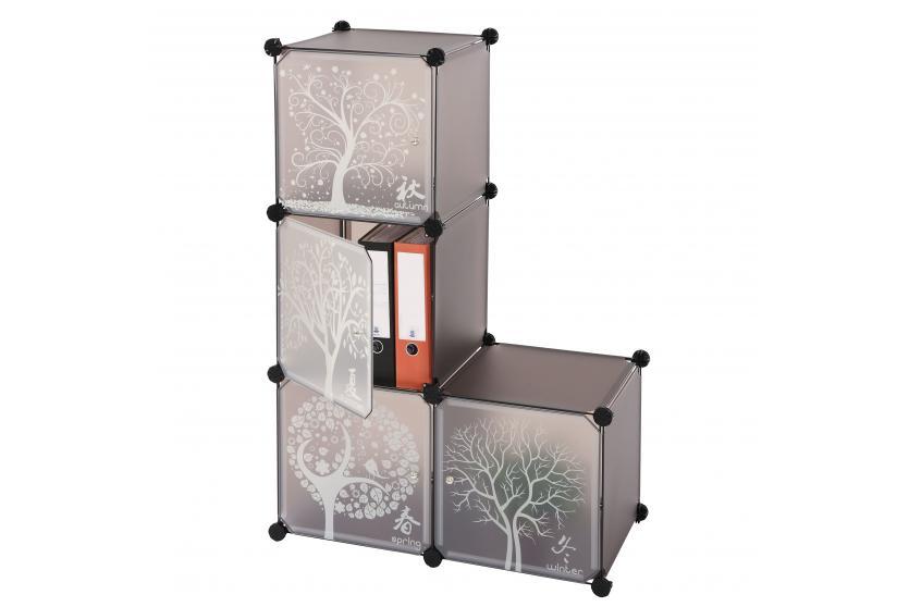 Universal stapelboxen regalbox box ablageboxen 4er set - Stapelboxen kinderzimmer ...