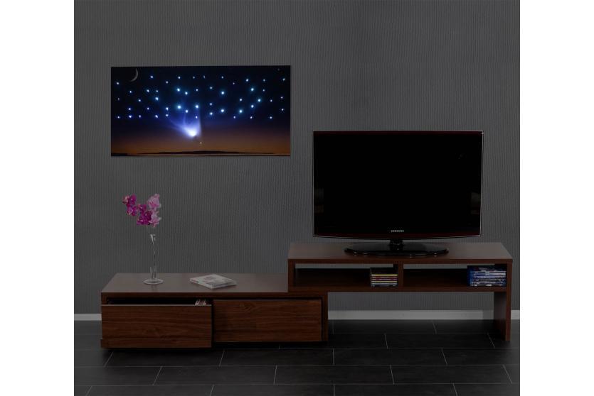led bild mit beleuchtung leinwandbild wandbild 100x50cm. Black Bedroom Furniture Sets. Home Design Ideas