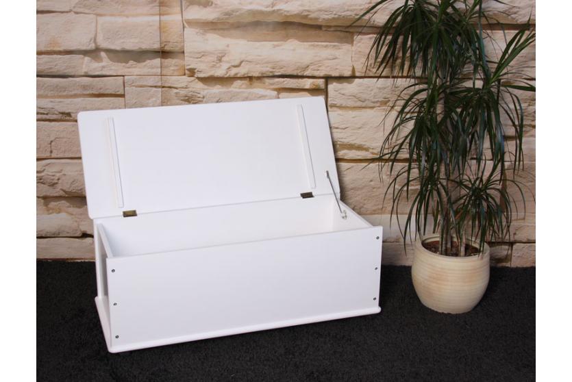 sitzbank w schekorb aufbewahrungstruhe truhe kiefer holz. Black Bedroom Furniture Sets. Home Design Ideas