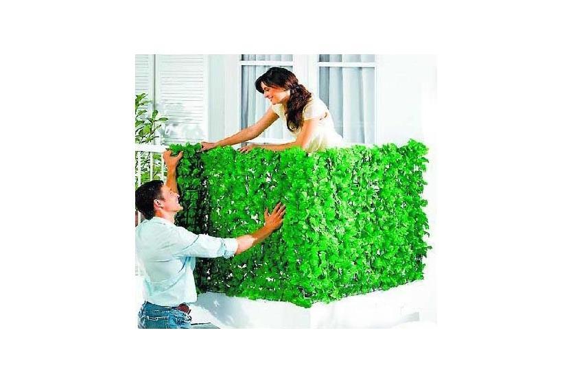 sichtschutz bl tter windschutz zaun f r balkon 3x1m ebay. Black Bedroom Furniture Sets. Home Design Ideas