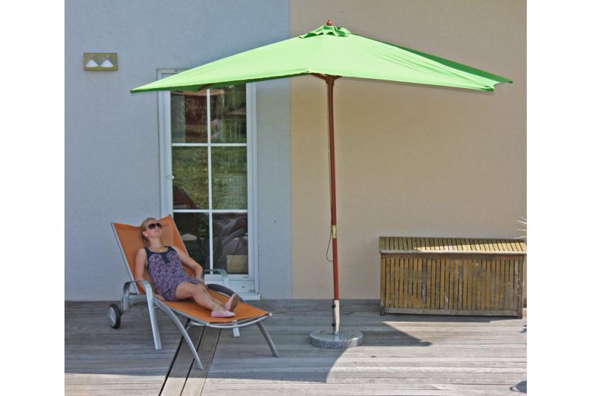 sonnenschirm m32 holz rechteckig oder quadratisch ebay. Black Bedroom Furniture Sets. Home Design Ideas