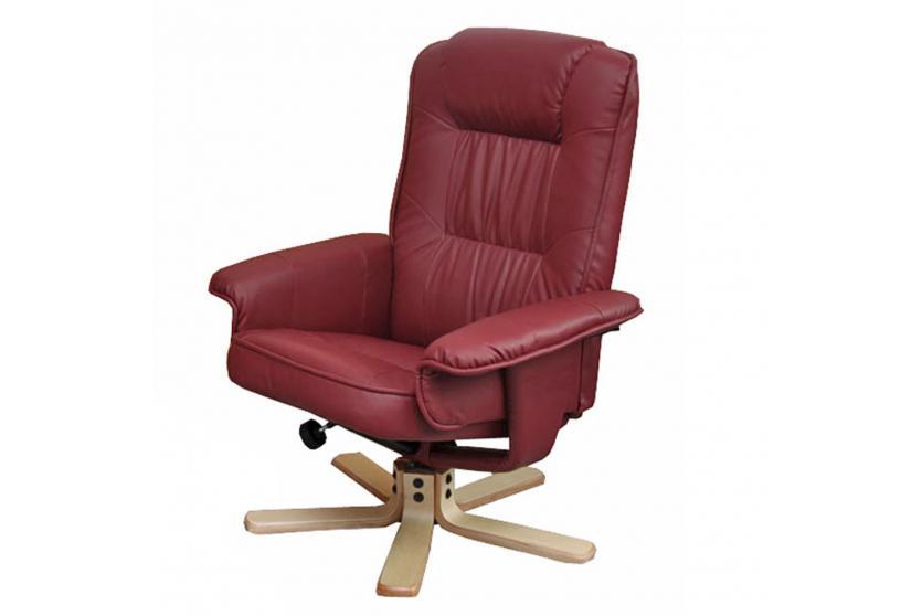 relaxsessel fernsehsessel sessel m56 optional mit oder ohne hocker kunstleder ebay