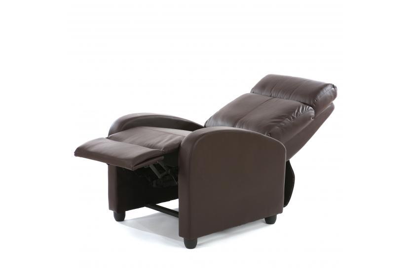 fernsehsessel relaxsessel liege sessel denver kunstleder. Black Bedroom Furniture Sets. Home Design Ideas