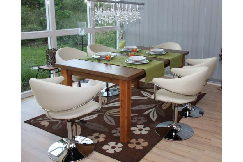 6x esszimmerstuhl kunstleder como. Black Bedroom Furniture Sets. Home Design Ideas