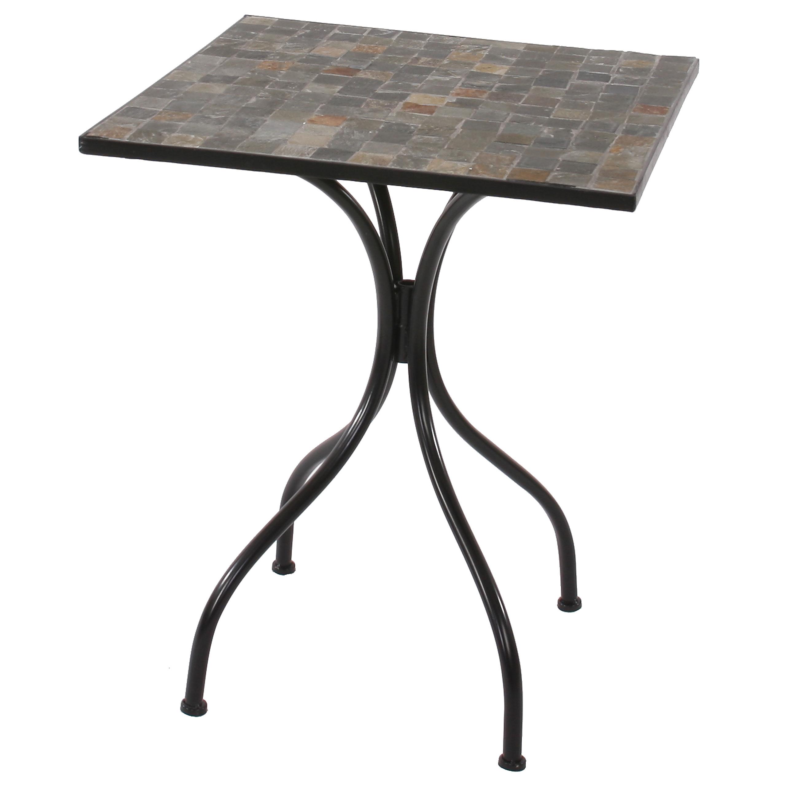 mosaiktisch alessandria h213 gartentisch bistrotisch. Black Bedroom Furniture Sets. Home Design Ideas