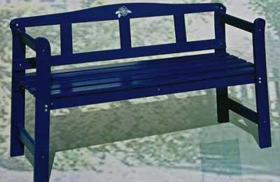 holzbank gartenbank friesenbank massiv 123cm. Black Bedroom Furniture Sets. Home Design Ideas