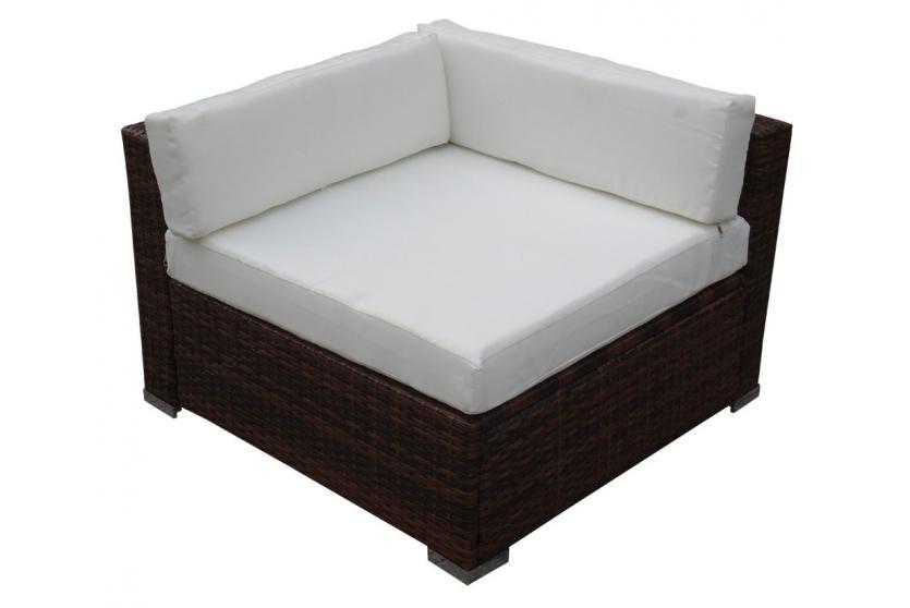 poly rattan sofa garnitur manta lounge set gartengarnitur. Black Bedroom Furniture Sets. Home Design Ideas