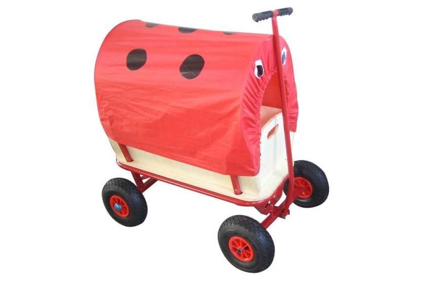 bollerwagen handwagen opt mit dach motive sitz ebay. Black Bedroom Furniture Sets. Home Design Ideas