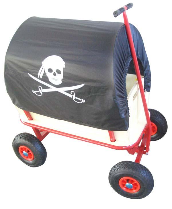 bollerwagen handwagen mit dach ebay. Black Bedroom Furniture Sets. Home Design Ideas