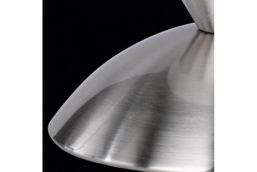 tischlampe tischleuchte touch me zebraoptik glas matt wei reality trio ebay. Black Bedroom Furniture Sets. Home Design Ideas