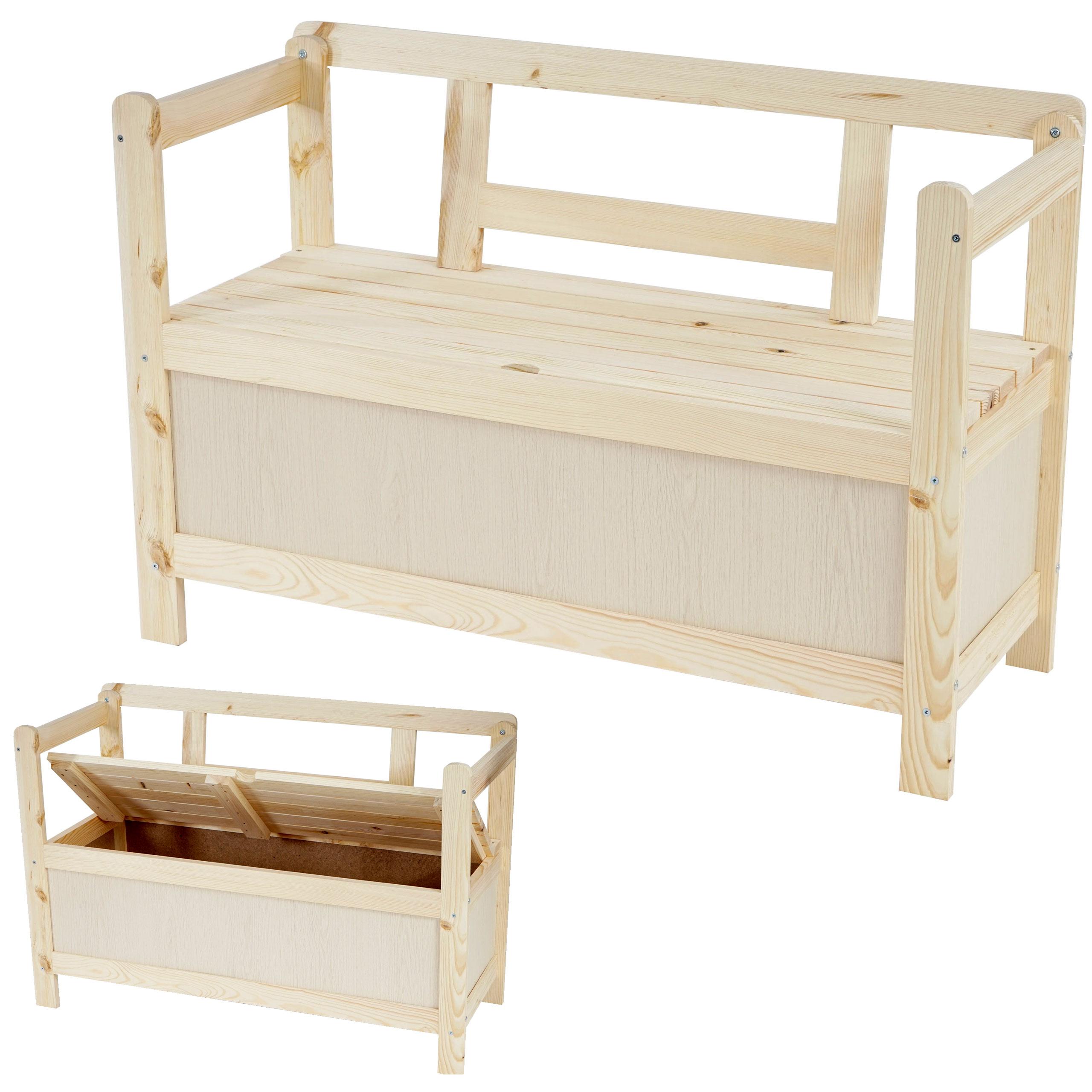 holzbank truhenbank gartenbank friesenbank kastenbank. Black Bedroom Furniture Sets. Home Design Ideas