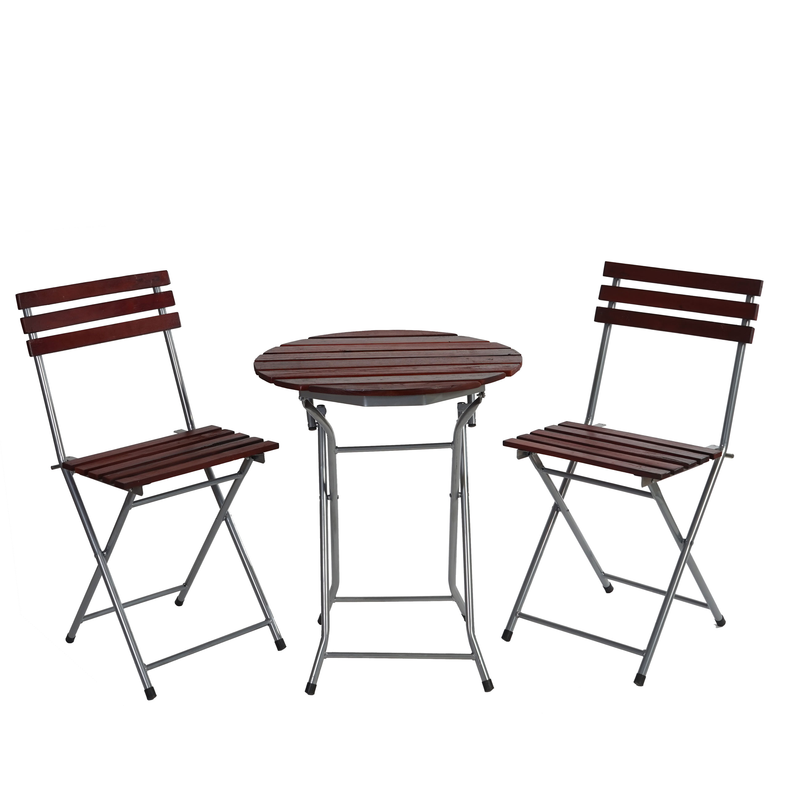 biergarten garnitur berlin bistro garten set tisch st hle ge lt dunkelbraun ebay. Black Bedroom Furniture Sets. Home Design Ideas